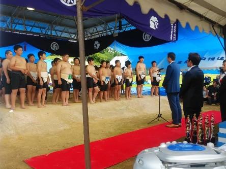 「わんぱく相撲富山ブロック大会」 開催報告